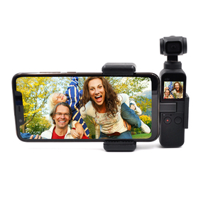 Image 3 - Startrc dji osmoポケット電話ホルダー/ブラケットマウント固定スタンド携帯ホルダーdji osmoポケットハンドヘルドジンバルアクセサリー