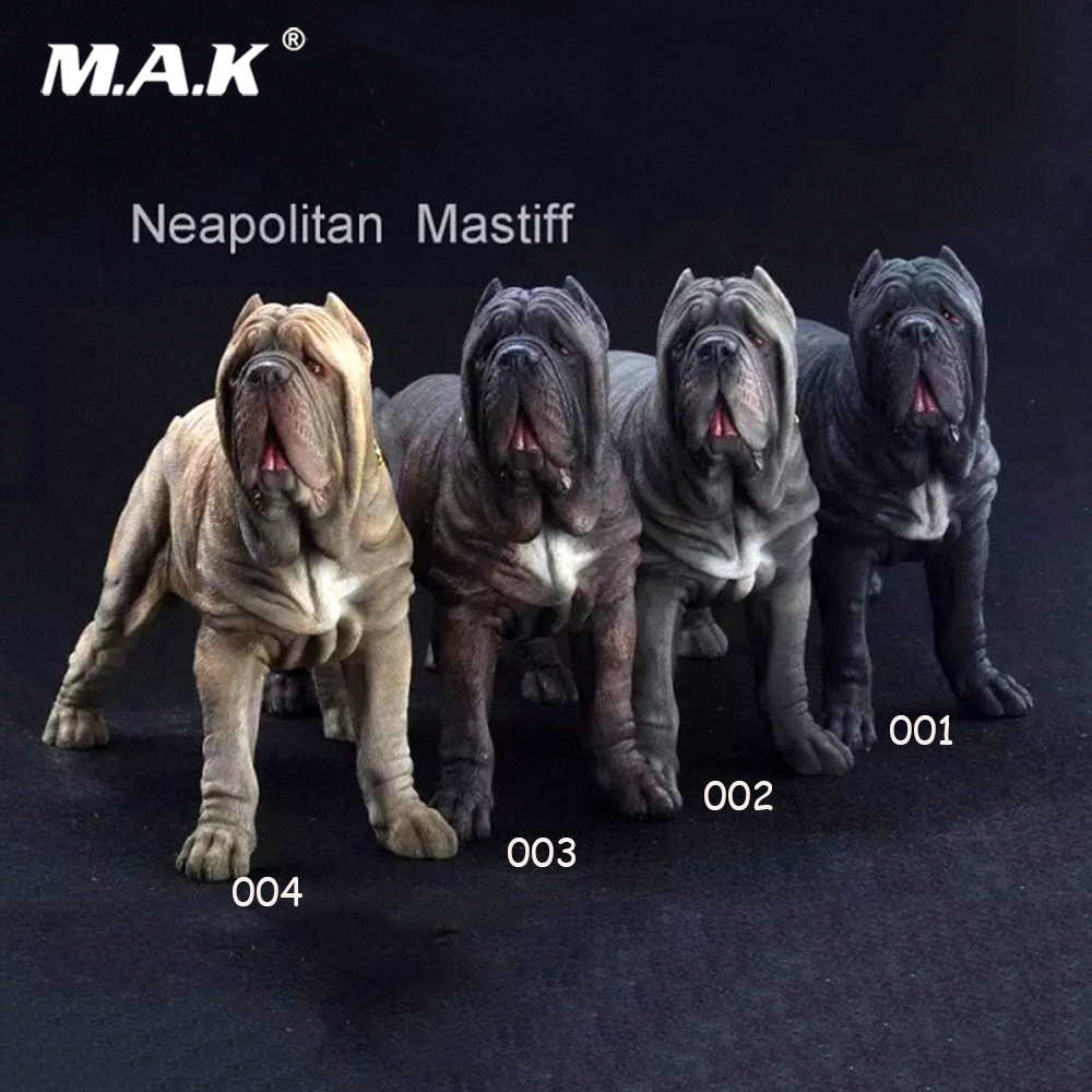 For collection 1/6 Scale Neapolitan Mastiff Dog Animal Statue Model Toy Figure model for 12 Action Figure 1 6 scale scene annex mr z neapolitan mastiff 001 black dog collar set tabby animal model fit 12 inch action figure doll toys