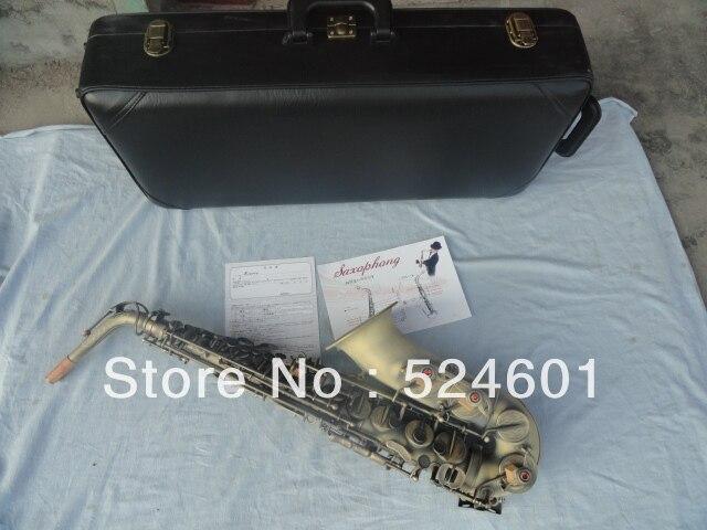 Информация оптовая часы очень красивые песочного цвета Бронзовый архаическим саксофона E