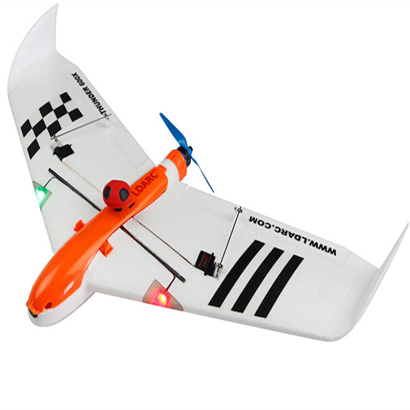 LDARC FPV Racer Drone Flying Wing 600X 656MM Wingspan Mini Fixed-wing Airplane EPO KIT/PNP/FPV Version RunCam Swift цена