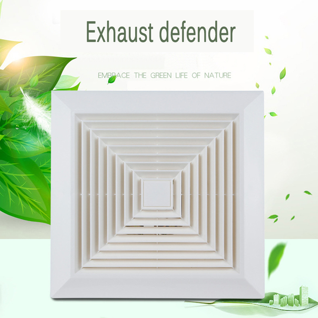 The Bathroom Toilet Exhaust Fan Indoor Ventilation System Mute - Bathroom ventilation systems exhaust fans