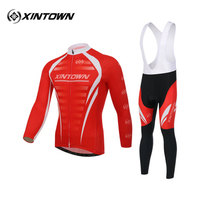 XINTOWN Cycling Long Suit Bike Riding Clothes Take New Age Season Breathable Perspiration