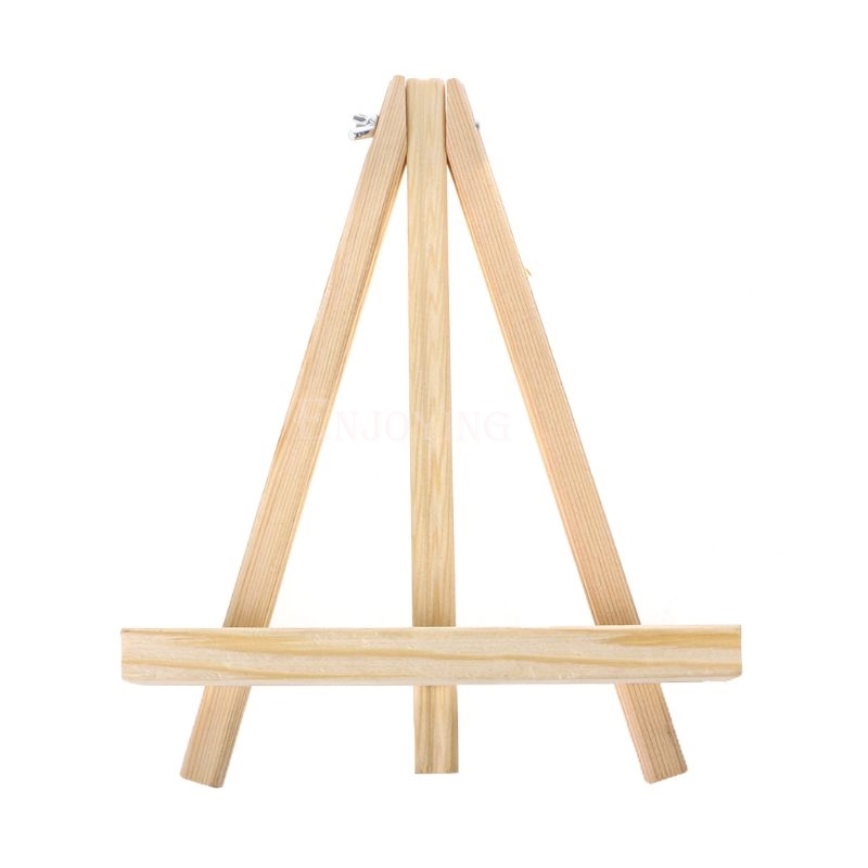 18X24cm Mini Artist Wooden Easel Wedding Table Card Stand Display Holder For Party Decoration