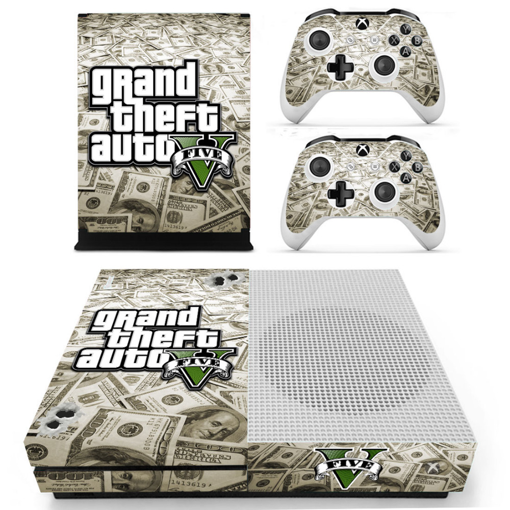 Grand Theft Auto V Gta 5 Skin Sticker Decal For Microsoft