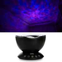 USB Remote Hypnotic Ocean Projector Night Light Star Projector Desk Decoration Light Projection Lamp High Quality