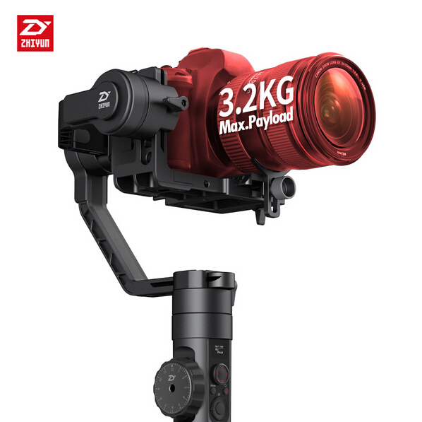 Newest Zhiyun Crane 2 3-Axis Handheld Gimbal Video Camera Gyro Stablizer for DSLR 3.2KG professional dv camera crane jib 3m 6m 19 ft square for video camera filming with 2 axis motorized head