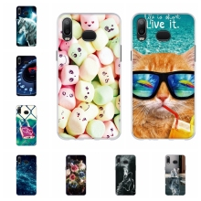 For Samsung Galaxy A6s Cover Soft TPU Silicone A6S Case Cute Animal Pattern a6s Coque Capa