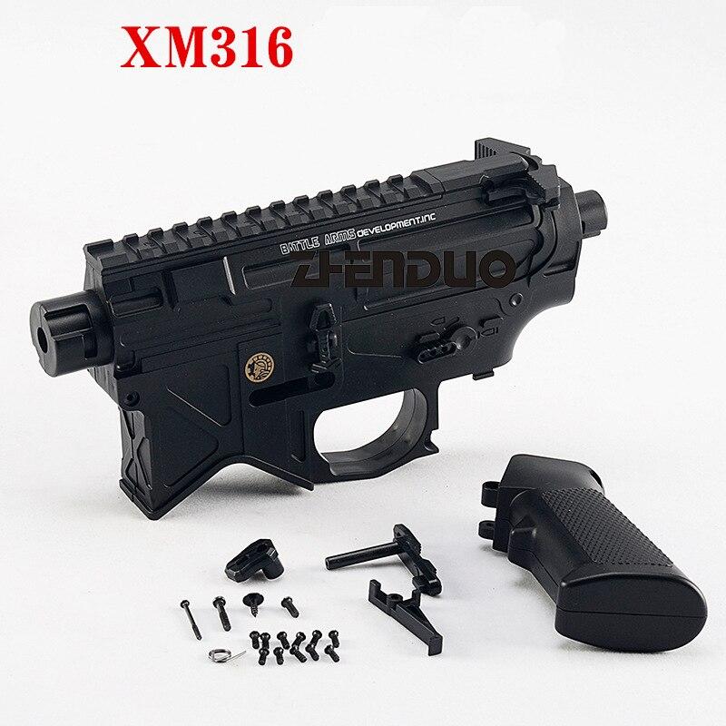 Zhenduo jouet XM316 split pistolet corps Gel balle accessoires livraison gratuite