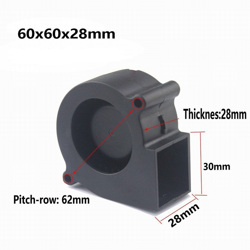 Centrifugal Supercharger Cheap: Aliexpress.com : Buy 5 Pieses Gdstime 60mm X 60mm X 28mm