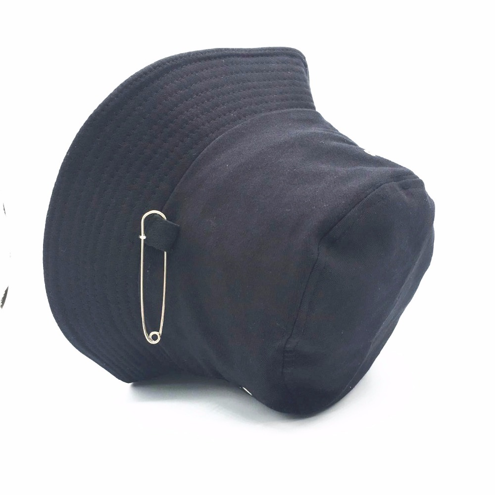 2018 BTS SUGA Fashion KPOP Iron Ring shoelace Bucket Hats popular style cap  100% handmade Long belt panama hip hop hat-in Bucket Hats from Apparel ... fc00b401daa0