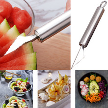 Dropshipping New Watermelon Melon Fruit Baller Carving Ice Cream Scoop
