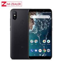 """Globalna wersja Xiao mi mi A2 Lite 4GB 64GB 5.84 """"19:9 pełny ekran Snapdragon 625 octa core podwójny aparat fotograficzny ai Smartphone z systemem android"""