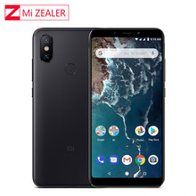 "Version mondiale Xiao mi A2 Lite 4GB 64GB 5.84 ""19:9 plein écran Snapdragon 625 Octa Core AI double caméra Smartphone Android OS"