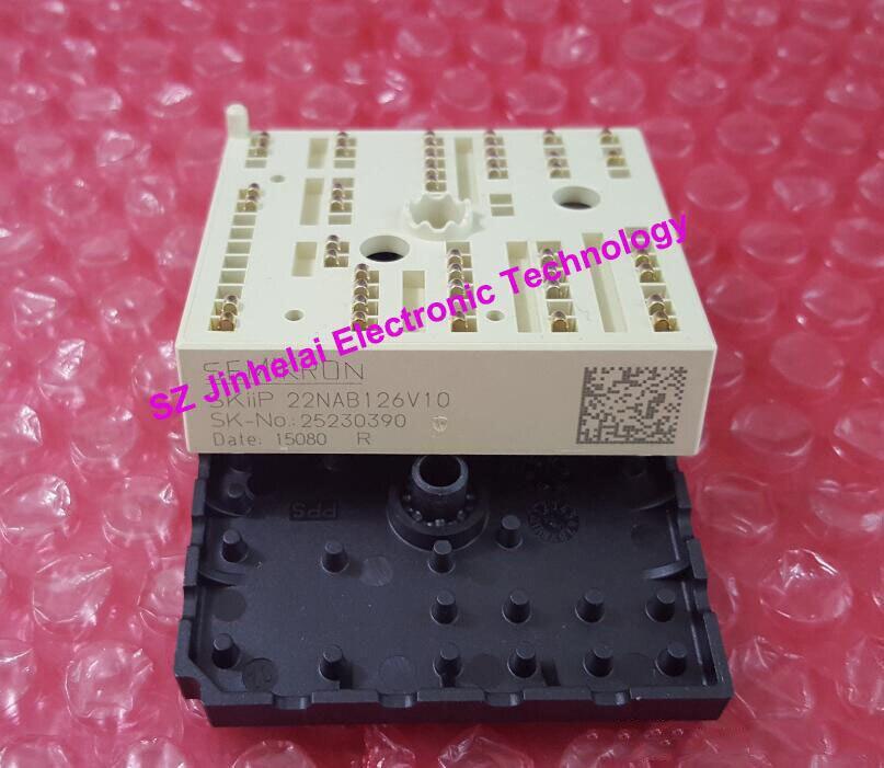 SKIIP22NAB126V10  SEMIKRON  IS NEW   IGBT MODULE freeshipping new skiip82ac12it46 skiip 82ac12it46 igbt module