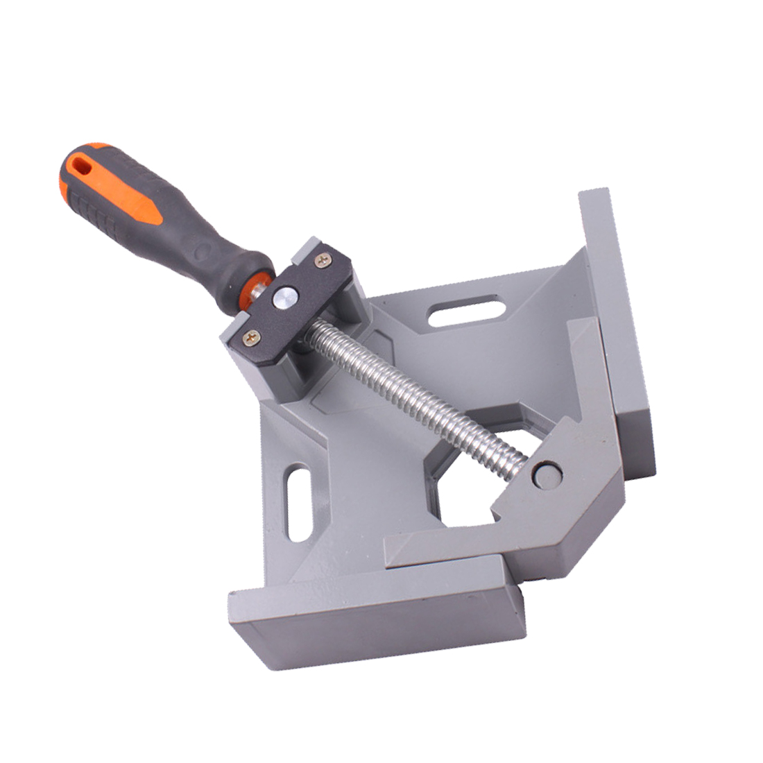 New 90 dgree Right Angle Carbide Vice Clamps Woodworking Clip Photo Frame Gussets Tools цена и фото