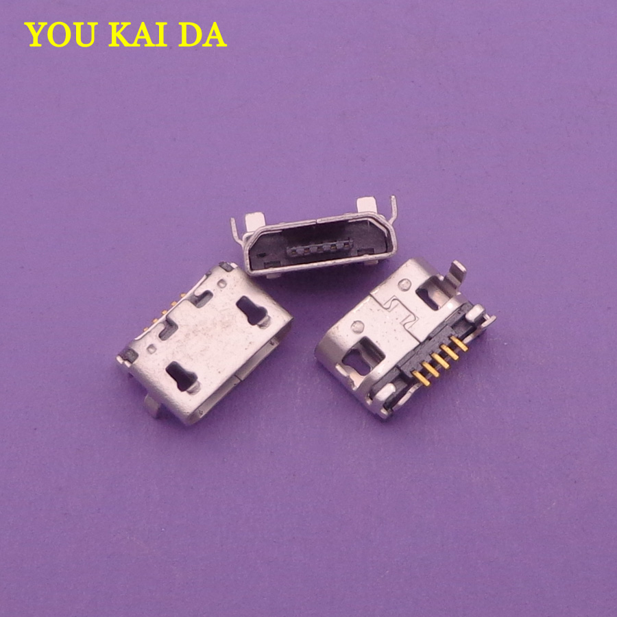 Computer Cables 20pcs//lot for BlackBerry Playbook 16 32 64GB Micro USB DC Charging Socket Port Connector for DELL Venue 8 PRO T01D 32GB Tablet Cable Length: Other