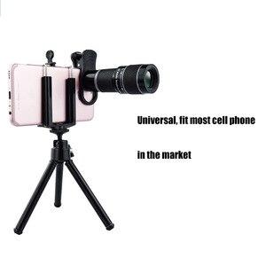 Image 5 - Phổ 18X Telephoto Ống Kính cho Điện Thoại Di Động Điện Thoại HD Kính Thiên Văn Đầu với Tripot & Clip cho Điện Thoại Di Động