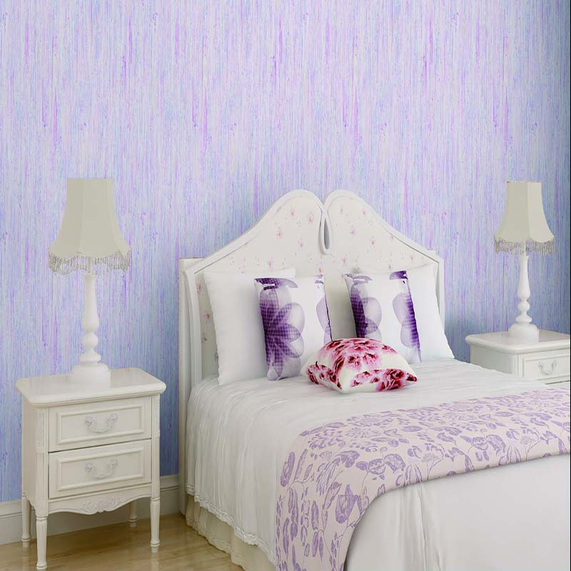 3d wallpaper Pure color plain modern bedroom wallpaper ...