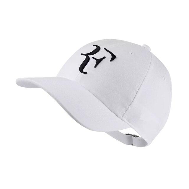 2018 Tennis Star Roger Federer Dad Hat Sport baseball cap 100% cotton 3D embroidery Unisex Snapback caps Tennis hat F Hats