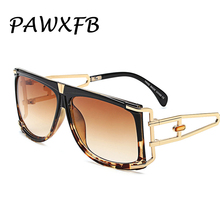 PAWXFB Newest Fashion Brand Sunglasses Women Designed Metal Hollow steampunk Sun Glasses Cool lunettes de soleil Gafas