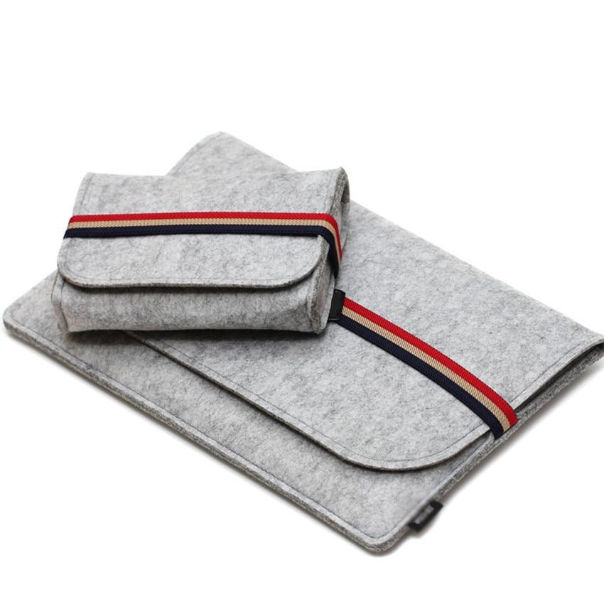 Gmilli Protective Wool Felt Ultrabook Sleeve Väska Väska Väska - Laptop-tillbehör - Foto 3