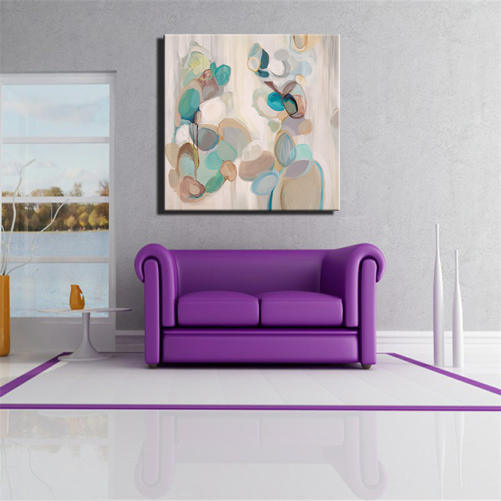 Abstract Wall Art Canvas Paintings Large Size Pop Art