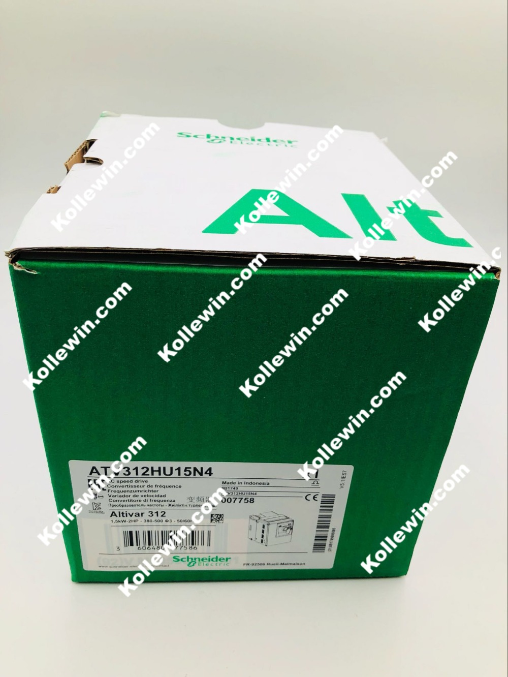 Atv312hu15n4 user manual