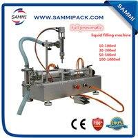 GFC-100 0 Volle Pneumatische Flüssige Füll Maschine für saft  öl  wasser  essig 100-100 0ML