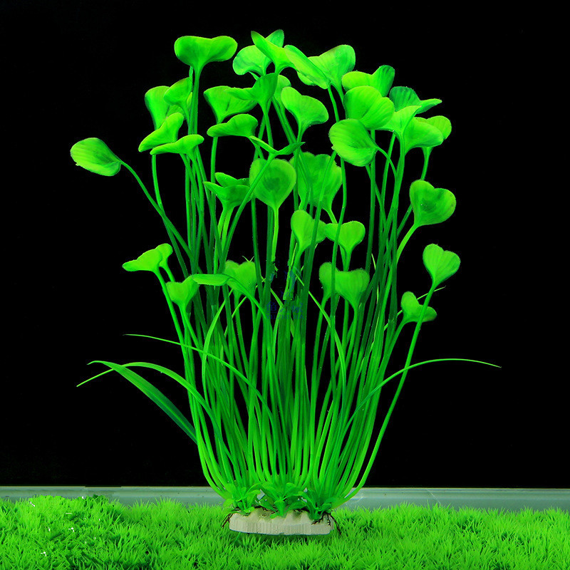 New 40cm Butterfly Shape Plastic Artificial Aquarium Plant