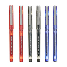 6 pcs Roller tip pen 0.5mm ballpoint pens Black Blue Red color gel ink Stationery Office accessories school supplies CB657 rocket car shaped blue gel ink ballpoint pen red yellow