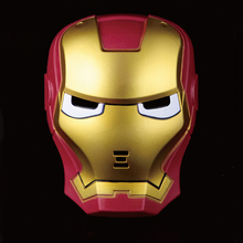 High Quality Thickened Plastic IronMan Mask for Men Halloween Party Mask, JSF-Masks-022