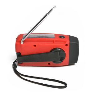 Image 2 - HFES Neue Multifunktionale Solar Handkurbel Dynamo Self Powered AM/FM/NOAA Wetter Radio Verwendung Als Notfall LED taschenlampe und Pow