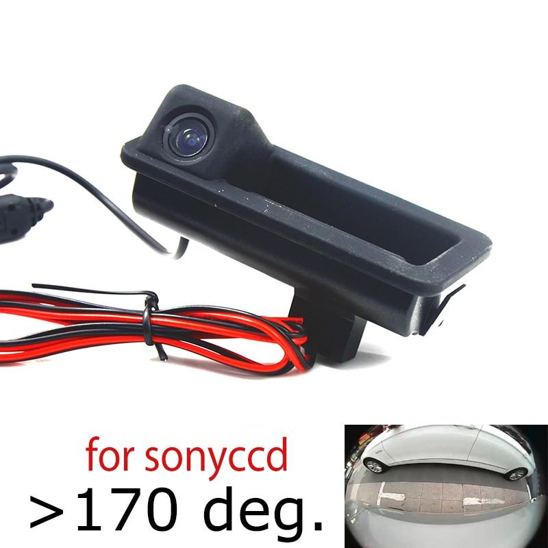 Автомобильная задняя камера 180deg CCD для ford Mondeo Fiesta S-Max Focus 2C 3C Land Rover Freelander Range Rover, ручка багажника, камера
