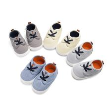 New spring Boys and Girls Casual toddler Shoes Cross Elastic band baby shoes First walker Male Baby