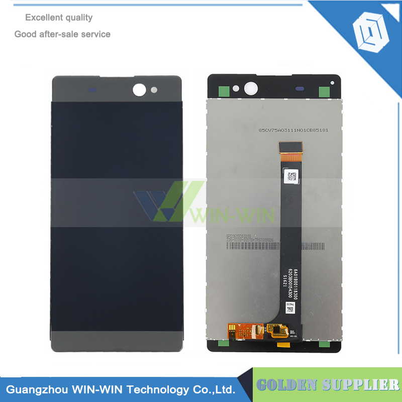 6.0 For Sony Xperia XA Ultra C6 LCD Display with Touch Screen Digitizer Assembly Replacement Free shipping original tested lcd screen for sony xperia c5 ultra lcd display with touch screen digitizer assembly free ship track