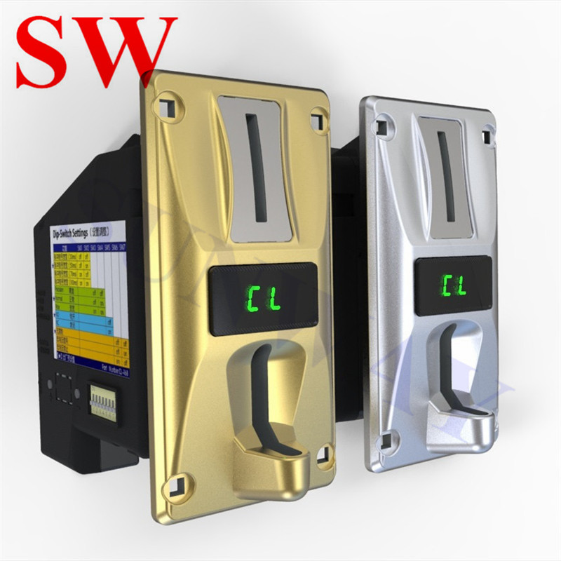 Replacement Parts Multi Coin Acceptor Selector Mechanism Vending