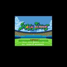 Smash Tennis 16 бит большая серая игровая карта для США NTSC игровой плеер