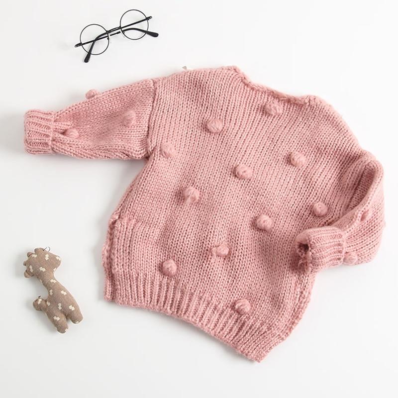 411ad4498c9f New Children s Wear Sweater Girl Baby Cotton Knit Cardigan Coat ...