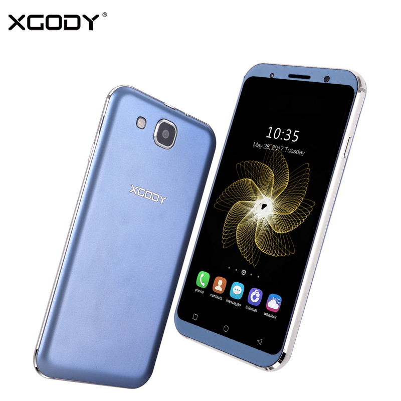 XGODY S11 5.3 Inch Smartphone Android 5.1 Quad Core 1GB RAM 8GB ROM Dual SIM 720P 5MP GPS WiFi Telefon 3G Unlocked Cell Phones