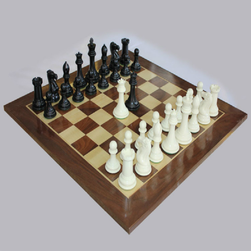 48 * 48 * 1.5CM Aggravated Staunton Chess Game With 106mm International Chess King Chess Queen 4 chess