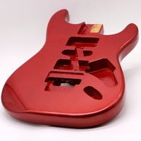 metallic red Floyd Rose ST guitar body