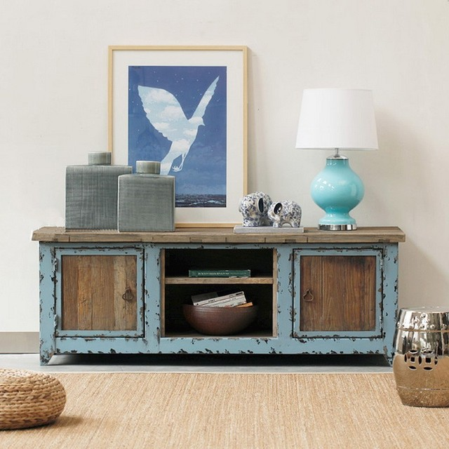 Nordic American antique French country loft TV cabinet to do the old wood  vintage lockers TV - Nordic American Antique French Country Loft TV Cabinet To Do The Old