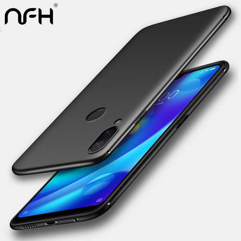 Luxury Matte Back Soft Silicon case For Xiaomi Redmi Note 7 case Full cover On Xiaomi Redmi Note 5 6 Pro 7 Phone Bags Cases