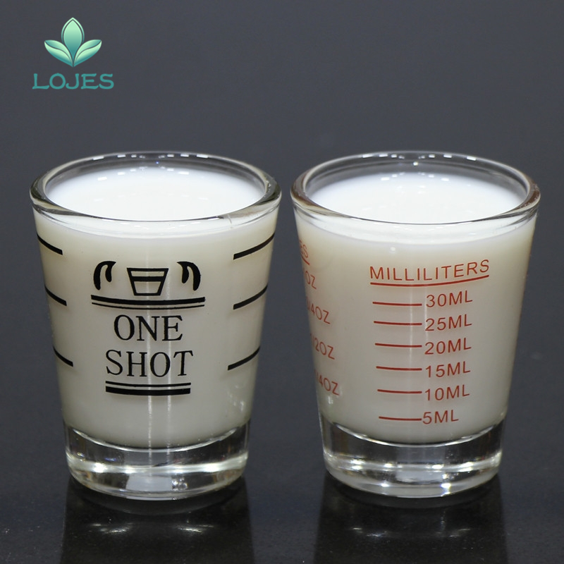 Glasses Ounce Measure-Supplies Shot Kitchen Thickened Home 45ml Cup Graduated