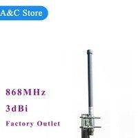868 мГц антенны 3dbi Стекловолокна Антенна Omni Лучшая цена магазин при фабрике антенны basestation антенна для lorawan