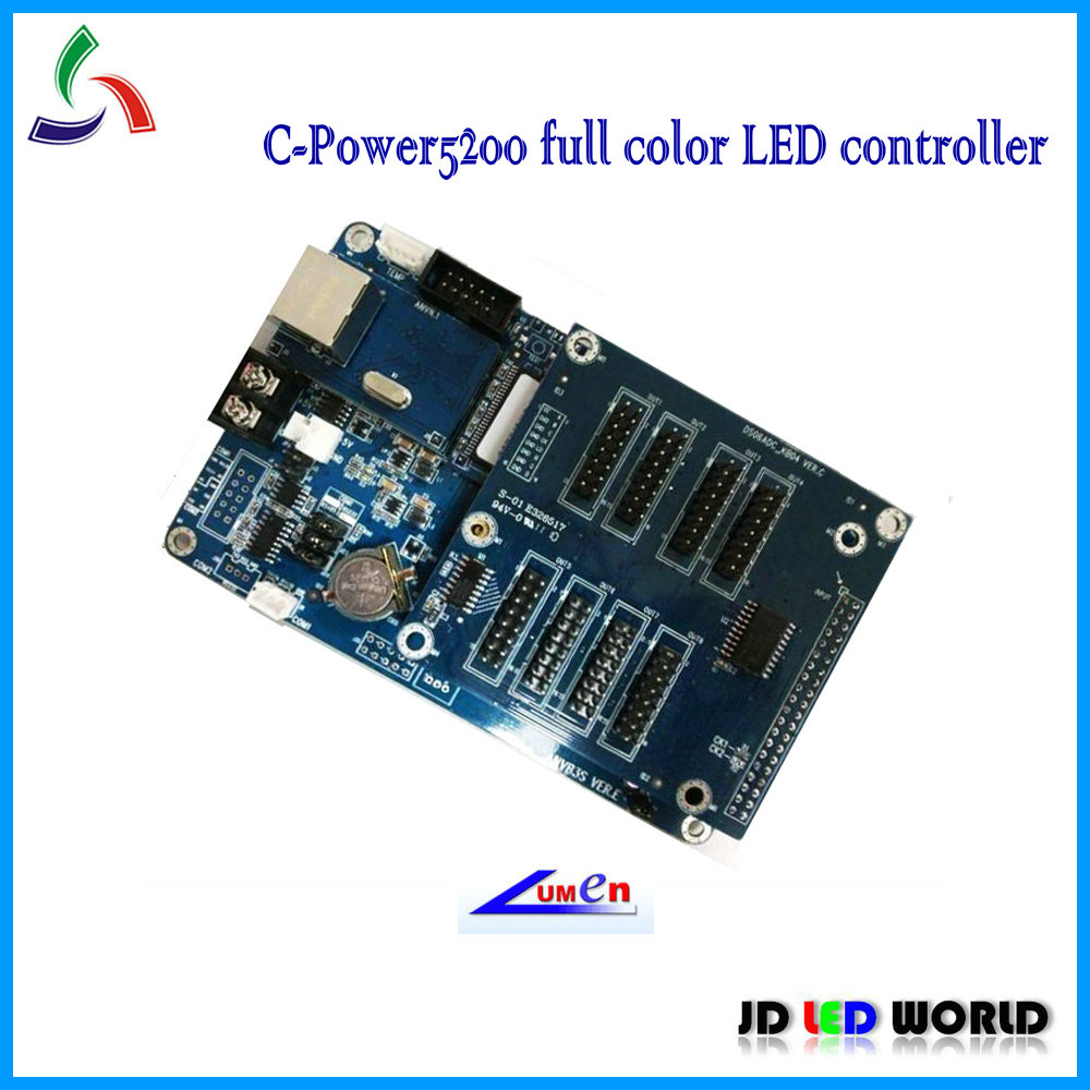 Lumen c power5200 C power 5200 RGB full color led display screen controller card