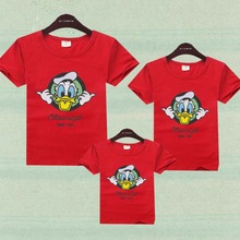Family Shirts Summer Short sleeve T shirt Family Matching Outfits For Mother Daughter Father Son Clothing Mother & Kids Clothes