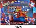 1 PC Capitão América Spiderman 6 Bala Mole Arma Arma Bala Mole Hulk Homem De Ferro Brinquedo Arma Bala Mole Arma de Brinquedo Para As Crianças Brincarem