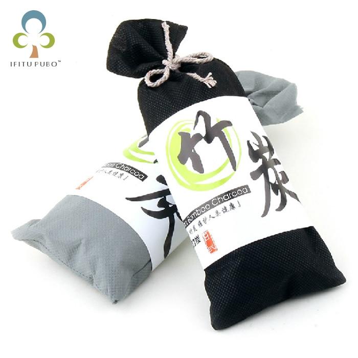 Japanese wholesale auto deodorizing charcoal bag car charcoal bag car charcoal bag with bamboo silica gel  refrigeration