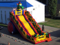 (China Guangzhou)  inflatable slides,Castle slides  Blue Dragon slide  CHA-115